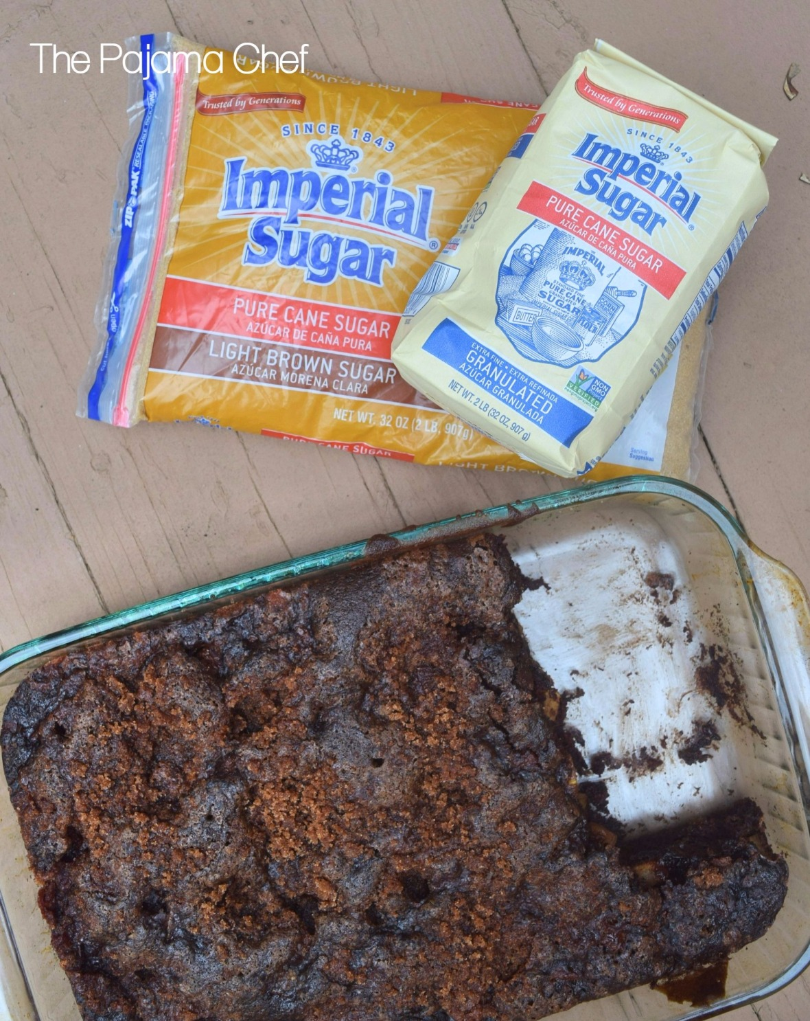 Chocolate Cinnamon Sugar Apple Cake - Sweet chocolate cake studded with fresh apples and topped with cinnamon sugar... this fall favorite is sure to please!#Choctoberfest #ImperialSugar #sponsored #ad