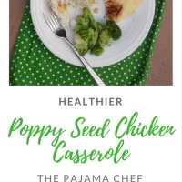 Healthier Poppy Seed Chicken Casserole