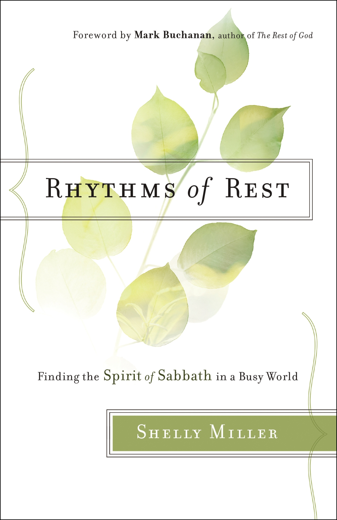 Do you know how to make rest a reality? For Christians, Sabbath rest is what God calls us to and what He wants for us... but it's hard. This book is a great read on Sabbath rest--it is practical, encouraging, and challenging all in one! I highly recommendit! Rhythms of Rest by Shelly Miller