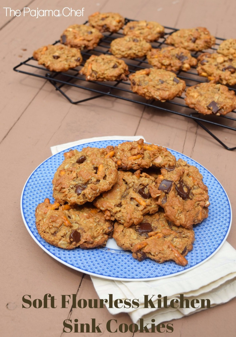 soft flourless kitchen sink cookies #choctoberfest – the pajama chef