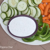 Our Favorite Fresh Vegetable Dip