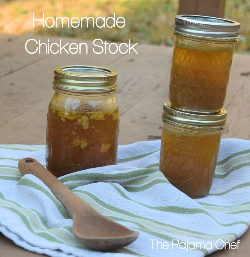 Homemade Chicken Stock. Easy, frugal, and utterly delicious!