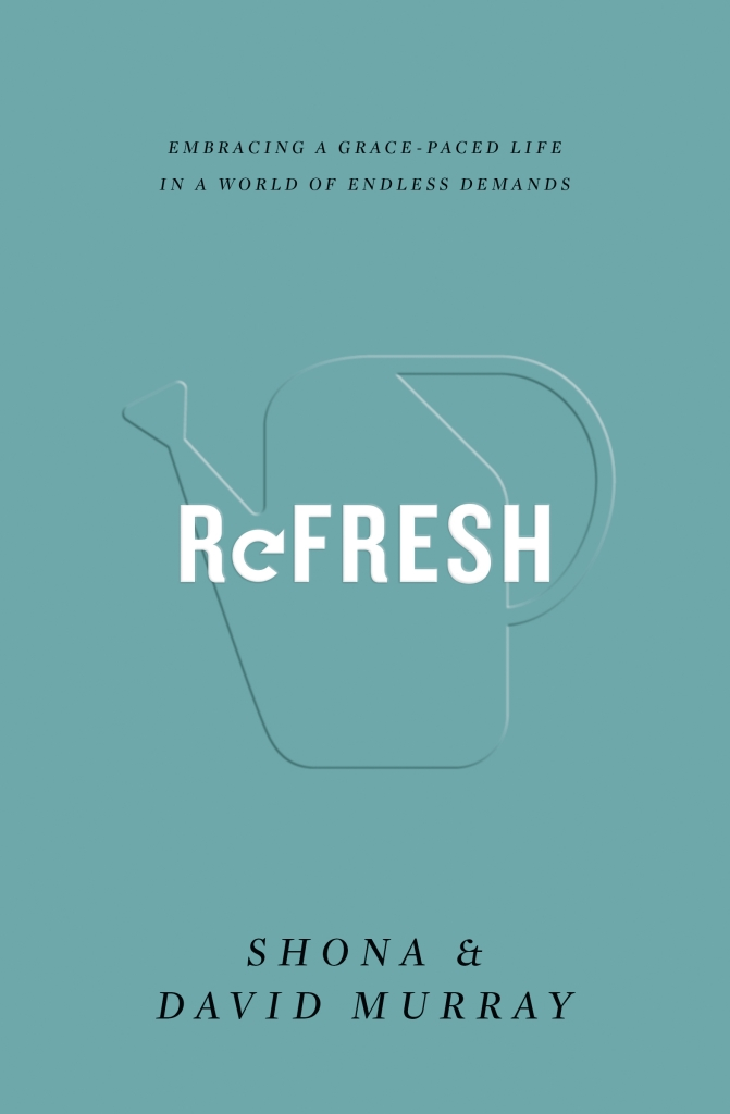 Today I am reviewing Refresh: Embracing a Grace-Paced Life in a World of Endless Demands by Shona & David Murray.