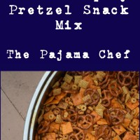 Sweet and Spicy Pretzel Snack Mix