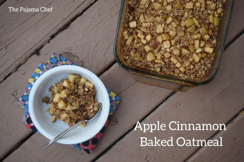 Easy and always enjoyed, this apple cinnamon baked oatmeal is almost constantly in our fridge! My toddler can't get enough, and the adults in our house think it's pretty tasty too.