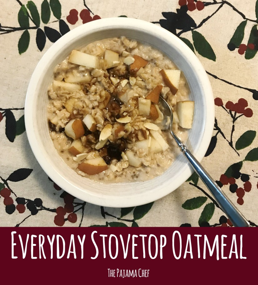 Everyday stovetop oatmeal... don't settle for a bowl of cold cereal for breakfast. If you have 10 minutes, you can have a delicious, hot bowl of oatmeal. And it's practically hands free, so you can make it while you're getting the rest of your day in order.  #FantasticalFoodFight