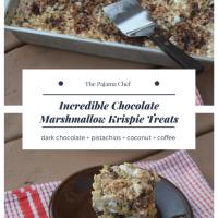 Incredible Chocolate Marshmallow Krispie Treats #FoodBloggerLove