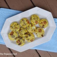Sweet Potato + Sausage Scrambled Egg Muffins