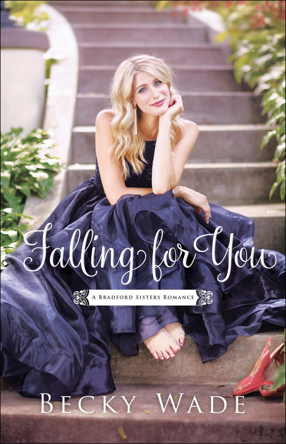 Looking for a sweet romance with some mystery thrown in for good measure? Be sure to read Becky Wade's Falling for You! #bookreview thepajamachef.com
