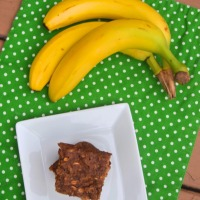 Fantastical Food Fight: Banana Breakfast Bars