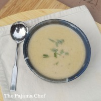 #Choctoberfest: White Chocolate Parsnip Soup