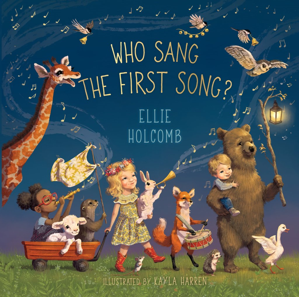 This sweet picture book written by singer-songwriter and mama Ellie Holcomb is sure to become a family favorite!